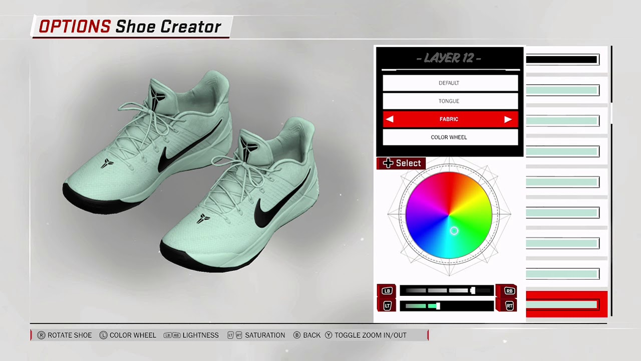 NBA 2K18 Shoe Creator - Nike Kobe AD