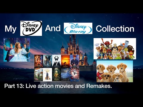 My Disney DVD And Blu Ray Collection Live Action Movies And Remakes Part 13