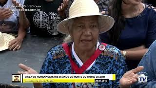 Missa em homenagem aos 85 anos de morte do padre Cícero Juazeiro do Norte Ceará