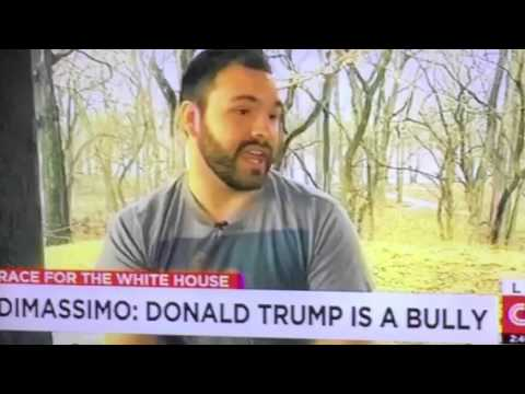 Tommy DiMassimo Donald Trump Stage Rusher Explains Actions To CNN