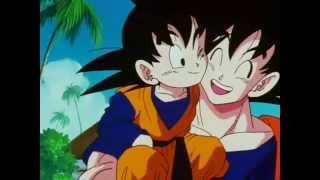Goku conoce a Goten (CASTELLANO)