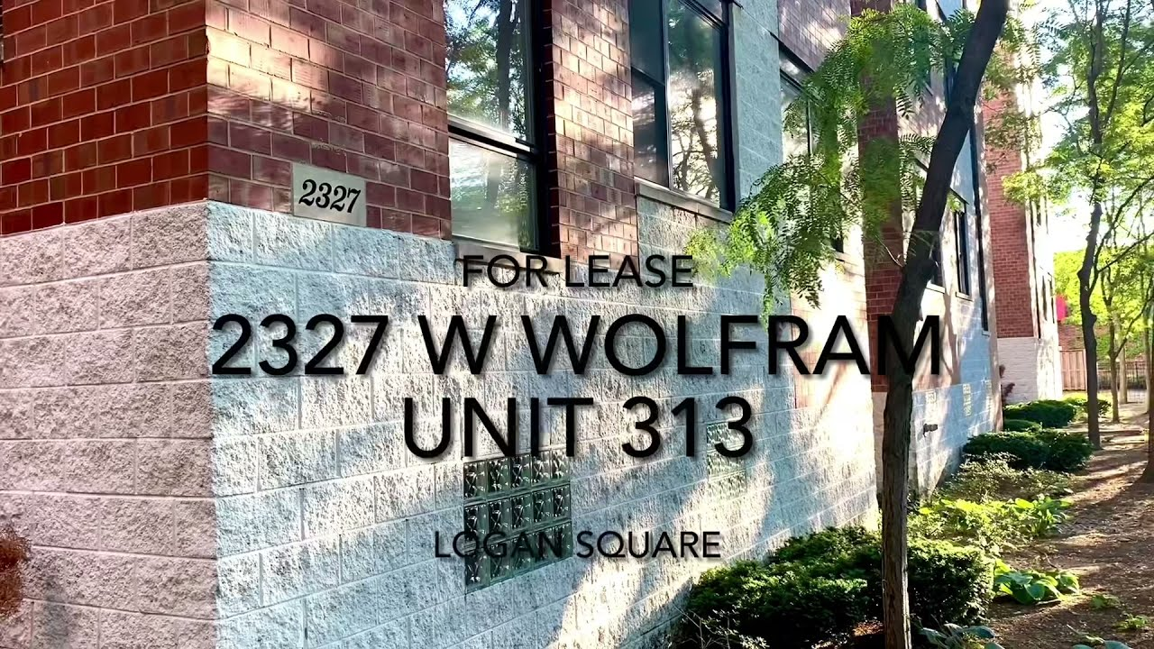 Awesome Logan Square Condo For Lease