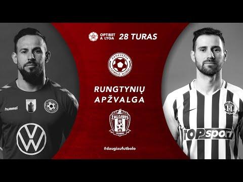 FK Panevezys Zalgiris Goals And Highlights
