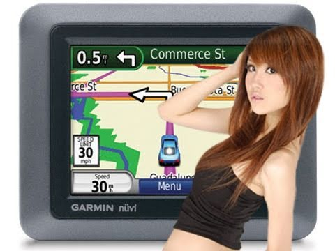 Sexy girl voice for garmin gps