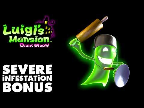 Luigi's Mansion Dark Moon - Secret Mine - Severe Infestation Bonus (Nintendo 3DS Walkthrough)