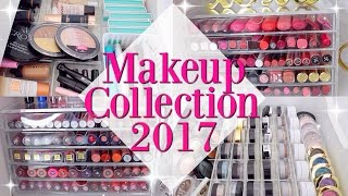 My Makeup Collection & Storage 2017 | Casey Vee