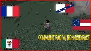 Community Raid With CSA/RM/AFE - [Roblox] 50 Kill Gap