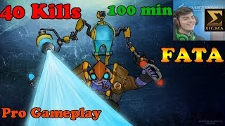 Fata plays Tinker 40/10 100min - Pro Gameplay - Dota 2!