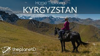 Horse Riding Adventure - Kyrgyzstan in 4K and DJI Drone