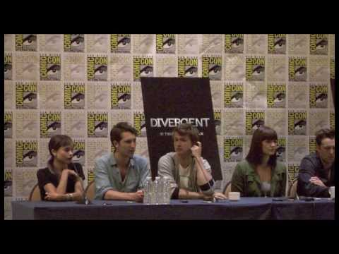 Divergent Cast Interview - Zoe Kravitz, Miles Teller, and More