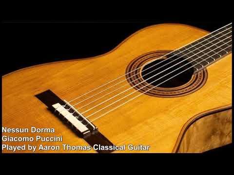 Nessun Dorma Aaron Thomas (Classical Guitar)