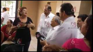 Presidente Sánchez Cerén visita Hosp. General del ISSS @fran_lmontesTCS