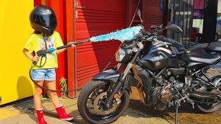 Car Wash Song Cleaning Toy Car Like Cocomelon , Comptines en anglais Lagu-lagu anak berbahasa