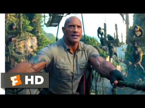 Jumanji: The Next Level (2019) - Rope Bridge Chase Scene (3/10) | Movieclips