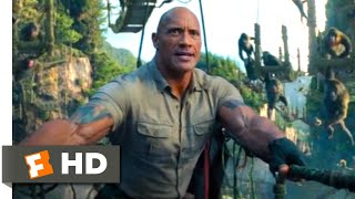 Jumanji: The Next Level (2019) - Rope Bridge Chase Scene (3/10) | Movieclips