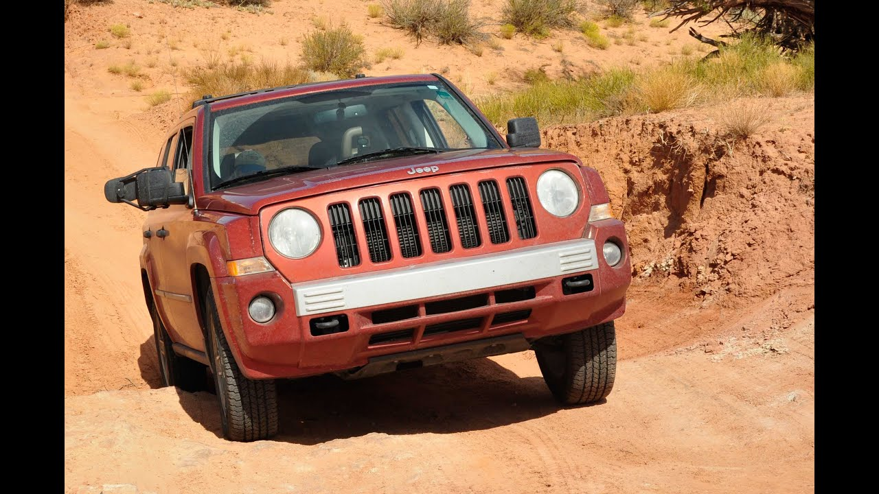 Jeep Patriot 4x4 Trail Rated Off Road   YouTube