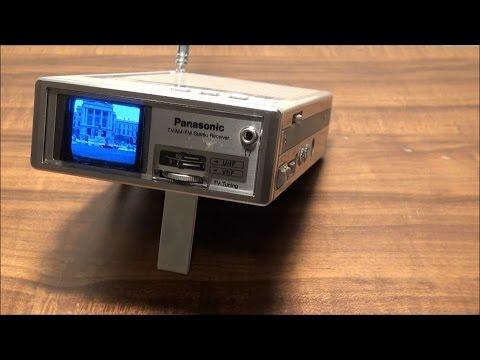 1982 Panasonic Travelvision TR1020P 1.5