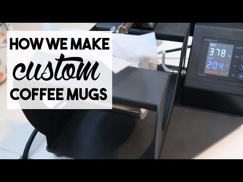 HOW WE MAKE CUSTOM COFFEE MUGS | April 4, 2018