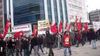 The March of the 'Indomitables'- Istanbul, April 03, 2011