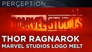 THOR RAGNAROK Marvel Studios Opening Logo Animation melting