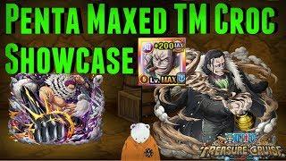 Penta Maxed TM Crocodile Showcase | Featuring Katakuri | One Piece Treasure Cruise