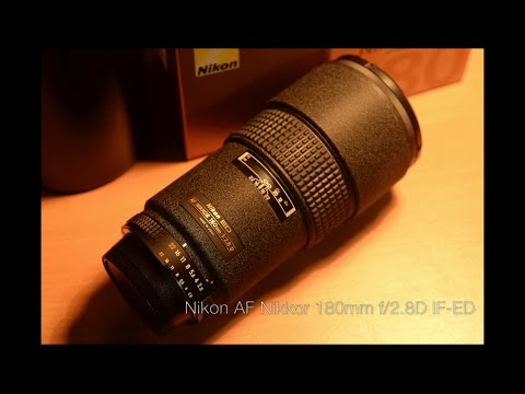Nikon AF Nikkor 180mm f/2.8D IF-ED review