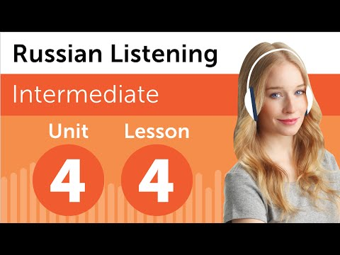 Russian Listening Comprehension – Listening to a Russian Weather Forecast