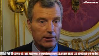 Le 18:18 - Covid-19 : le préfet des Bouches-du-Rhône annonce des mesures sanitaires renforcées