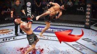 ЗРЕЛИЩНЫЙ ДАГЕСТАНЕЦ УБИВАЕТ МИРОВОЙ ТОП 10 ЗАБИТ МАГОМЕДШАРИПОВ UFC 3 НОКАУТЫ