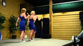 Best Wedding Toast Ever - Sisters of Bride Sing Surprise Rap
