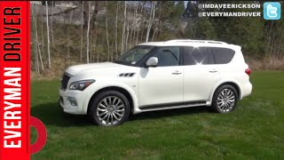 2015 Infiniti QX80 AWD First Look on Everyman Driver