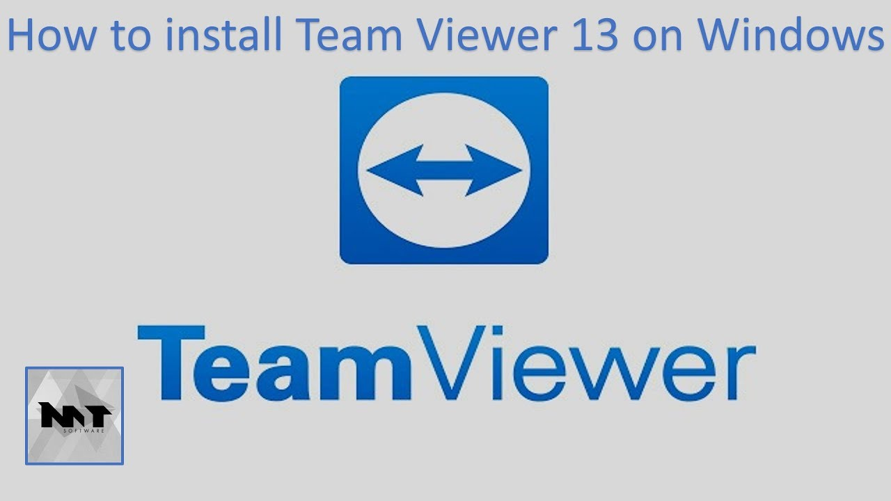 How to install Team Viewer 13 on Windows 10 | Windows 8 | Windows 7