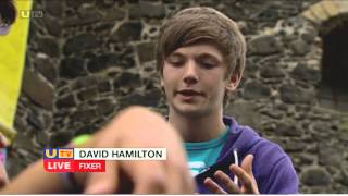 Fixers Parkour story on UTV Live, September 2013