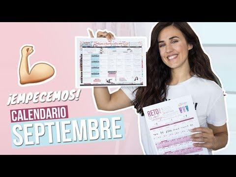 Calendario Septiembre Gymvirtual.Calendario De Entrenamiento De Septiembre Con Ejercicios