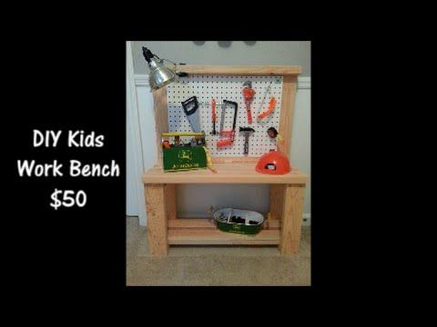 DIY KIDS WORKBENCH   $50