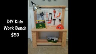 Diy Kids Workbench - $50