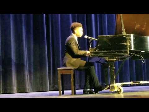 16yr old-Caleb Carroll singing Cover of