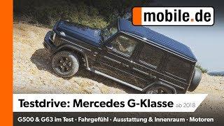 Mercedes G500 & G63AMG | mobile.de Testdrive