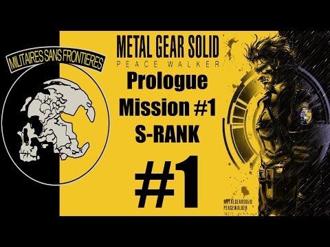 Metal Gear Solid: Peace Walker HD - Stealth Walkthrough - Prologue / Mission #1 S-RANK