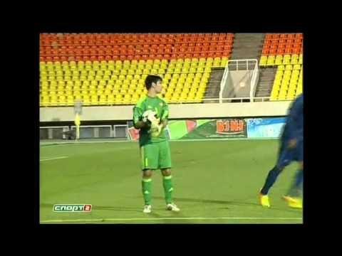 Arsen Beglaryan against U21 France and U21 Kazakhstan