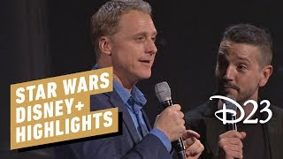 Star Wars Disney+ Panel Reveal Highlights - D23 2019