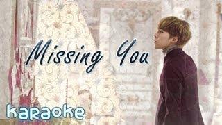 G-Dragon - Missing You [karaoke]