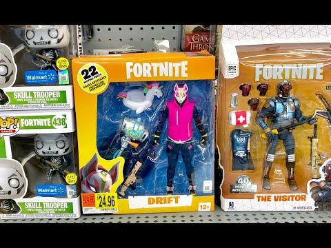 New FORTNITE Toys Hunt 2019 - Fortnite Funko Pop Collection - Fortnite NERF Toys & Toy Unboxing