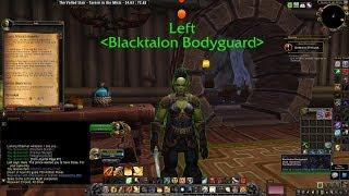 Black Winged Shadow Horde  8.2.5 Wrathion Questline