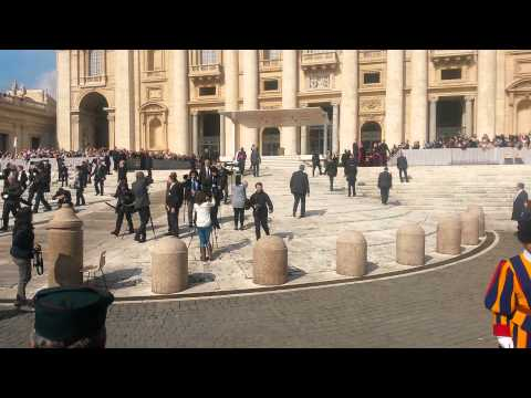 Avdienca Vatikan, 29.4.2015