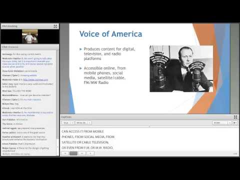 AE Webinar 5.3 - Voice of America: Current Event Activities in the English Language Classroom