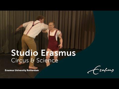 Circusstad Festival tijdens Studio Erasmus