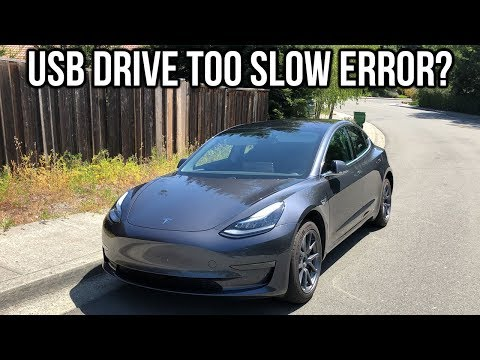 USB Drive Too Slow Error For Tesla Model 3 – How To Fix!