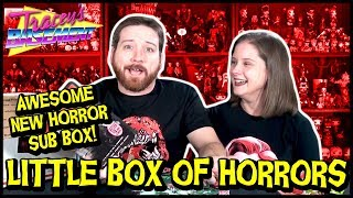 Little Box of Horrors Unboxing (Oct 2017) - New Horror Subscription Box Just In Time For Halloween!