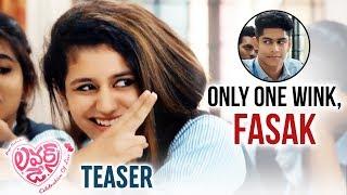 Lovers Day Telugu Movie Teaser | Priya Prakash Varrier | 2019 Latest Telugu Movies |Telugu FilmNagar